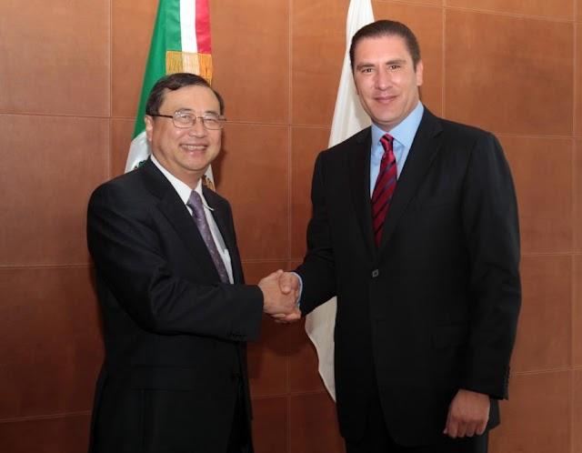 Recibe Gobernador a embajador de Japón