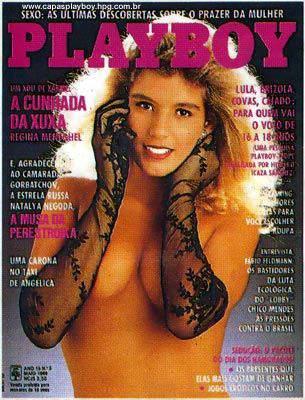 Regina Meneghel - Playboy 1989