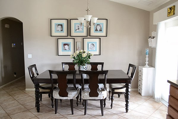 Dining Room from Medley of Golden Days Blog