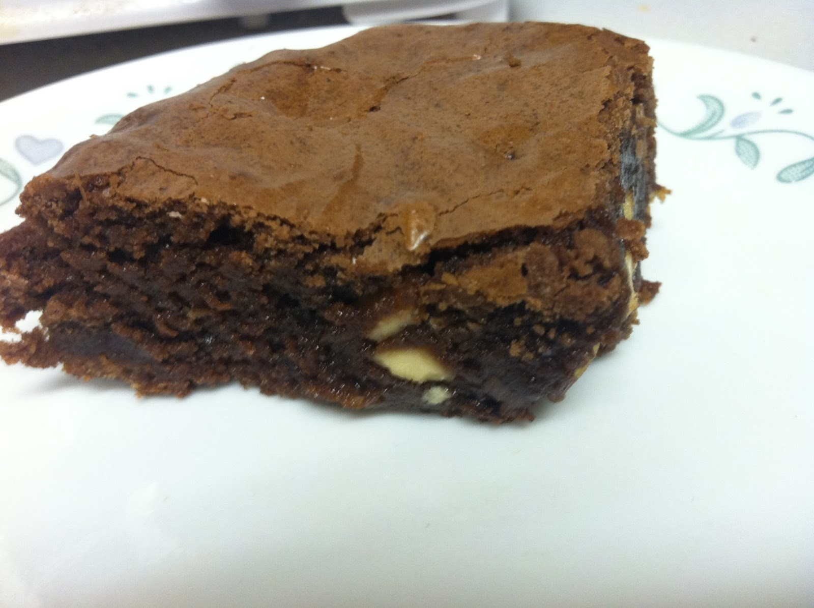 Just winging it 2015 this is a brownie with chocolate and white chocolate chips the brownie recipe also did come from the 50 bar cookie insert from the food network magazine forumfinder Choice Image