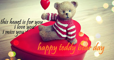 teddy day sms for her