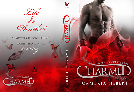 COVER and TRAILER REVEAL: Charmed by Cambria Hebert