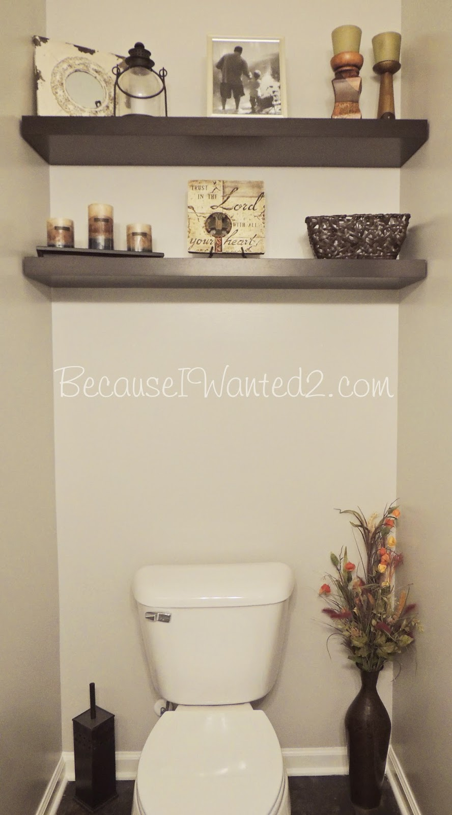 Bricolage e decora o sugest es de decora o para casas for Small 1 2 bathroom decorating ideas