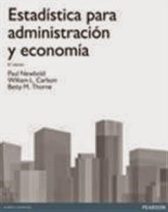 Manuales de Economía y Empresa: Estadística para Administración y Economía.
