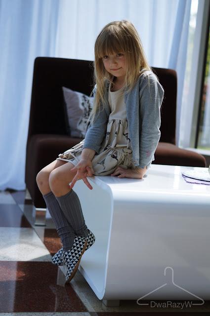 Wave dress booss buty Jazz Anniel podkoloanówki dla dziecka
