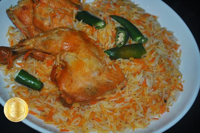 Patyskitchen Yemen Mandi Rice Nasi Mandi Yemen