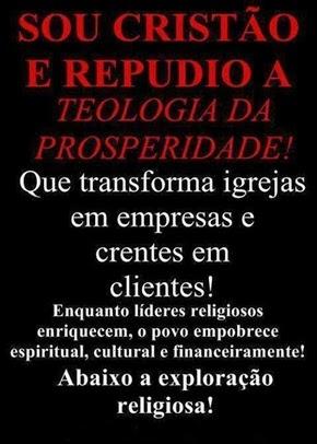 FORA MERCANTILISMO RELIGIOSO!