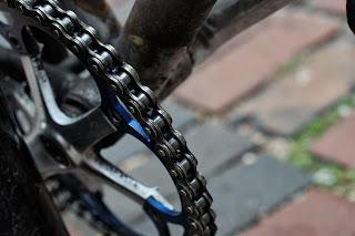 Single speed bicycle bike boylston st boston usa the biketorialist oury grips bmx style handlebar rust track frame chain