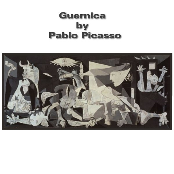 """picasso guernica style Another of his most enduring images, the iconic """"guernica,"""" immortalizes the  brutality of the spanish civil war with analytic cubism, synthetic cubism,  surrealism."""