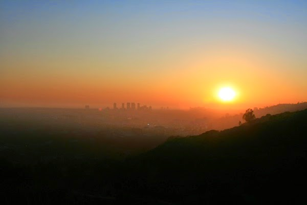 Runyon Canyon sunset