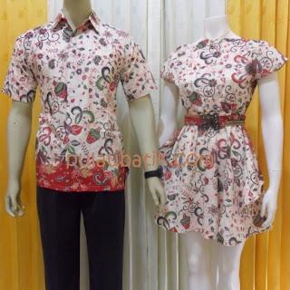 Foto Baju Batik Couple Pekanbaru