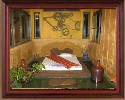 Độc đáo ngôi nhà có mái đắp hình bản đồ Việt Nam