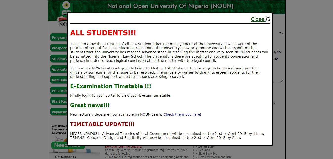 noun registrable courses 2014