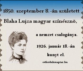 Blaha Lujza, nemzet csalogánya