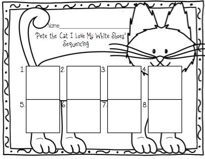 Cats Colorful Shoes And Other News on Pete The Cat Freebies