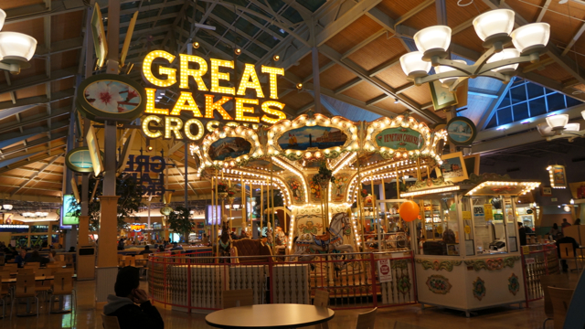 Great Lakes Crossing Outlets is home to many stores, restaurants and entertainment venues exclusive to Michigan, including Sea Life Aquarium, Legoland Discovery Center, Bass Pro Shops Outdoor World, The Disney Store Outlet, Rainforest Café, Victoria's Secret Outlet .