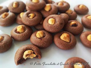 Bouchées moelleuses chocolat noisette, sans beurre et sans gluten