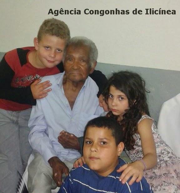 Geraldo Diolindo, comemora 100 anos