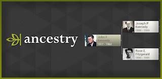 Ancestry aplikasi untuk android