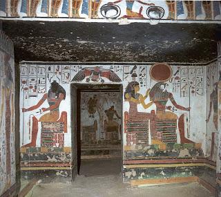 Tumba de Nefertari en el Valle de las Reinas. Egipto a tus pies. El Valle de las Reinas en Luxor. El Valle de las Reinas.