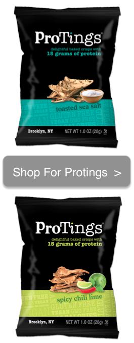 Crunchy, Tasty Protein Chips