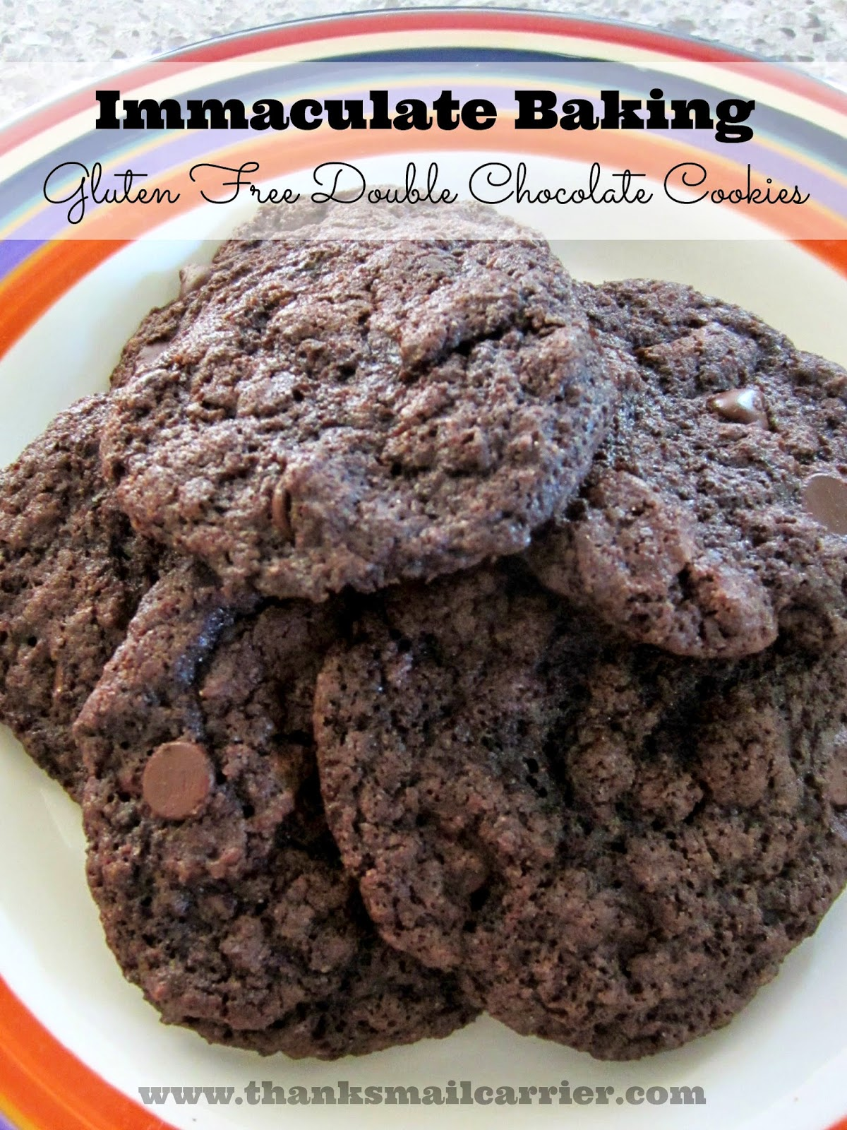 Immaculate Baking cookies