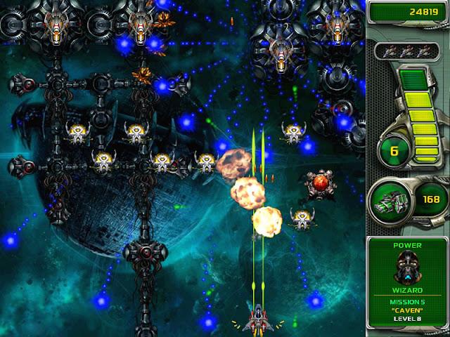 لعبة غزو الفضاء ستار ديفاندر Star Defender 4
