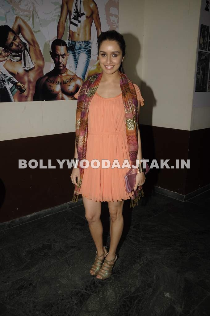 1 - Shraddha Kapoor at The Dirty PIcture Screening