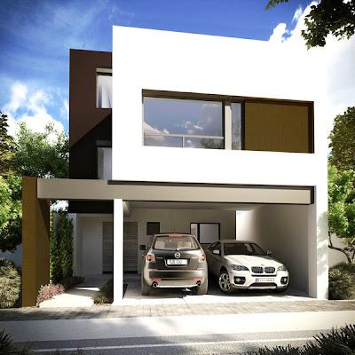 fachada moderna, fachada contemporanea, estilo contemporaneo, casa contemporanea, residencia contemporanea