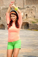 Actress Sharmila Mandre Latest Picture Gallery in Green Shorts 0002.JPG