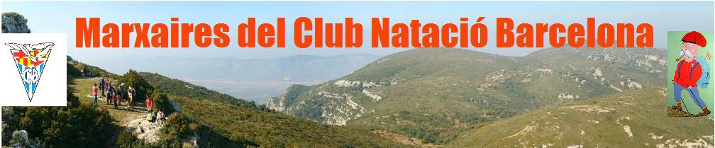 Som els: Marxaires del Club Natació Barcelona