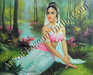 Shakuntala Waiting for Her Beloved