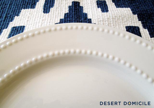 & Dollar Store Dinnerware | Desert Domicile