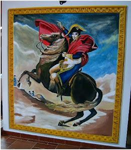 Un affresco di Napoleone - Fresco of Napoleon