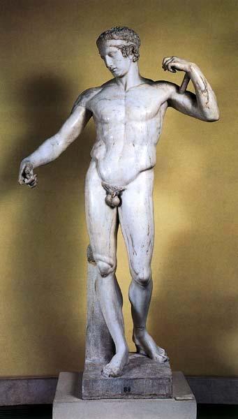 El arte de la escultura en la antigua grecia. Obras de arte maravillosas.