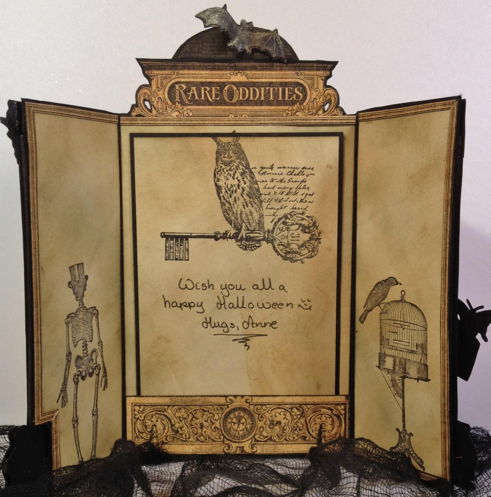 How to make scrapbook vintage - Annes Papercreations