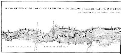 Tramo comprendido entre el inicio del Canal, en Navarra, y el Oeste del municipio de Zaragoza
