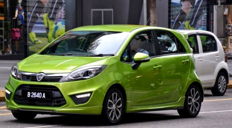 Proton Iriz Baru - All New Proton Compact Car (PCC)