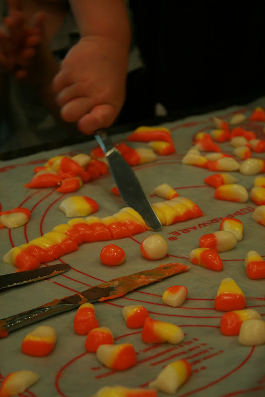 ... In My Mind: Halloween Fun/Papier Mache and Homemade Candy Corn