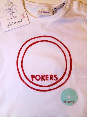 Samarreta personalitzada Pokers_Viure Enfilades.cat