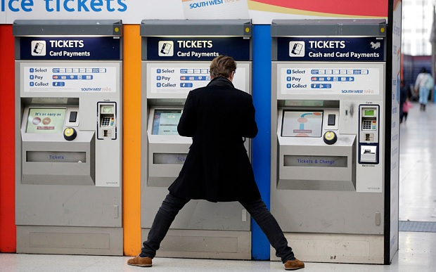End of the paper train ticket as railways 'go paperless'