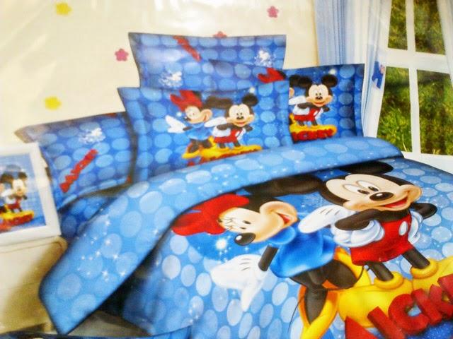 Sprei Anak Jepang Motif Miki dan Mini