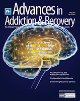 cover of Advances in Addiction Recovery fall issue