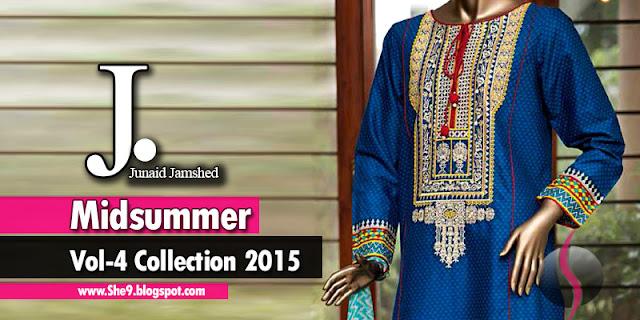 Junaid Jamshed Mid-Summer Mania 2015