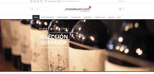 entrevista a Javier Andrés Salvador CEO de Vinos de Autor