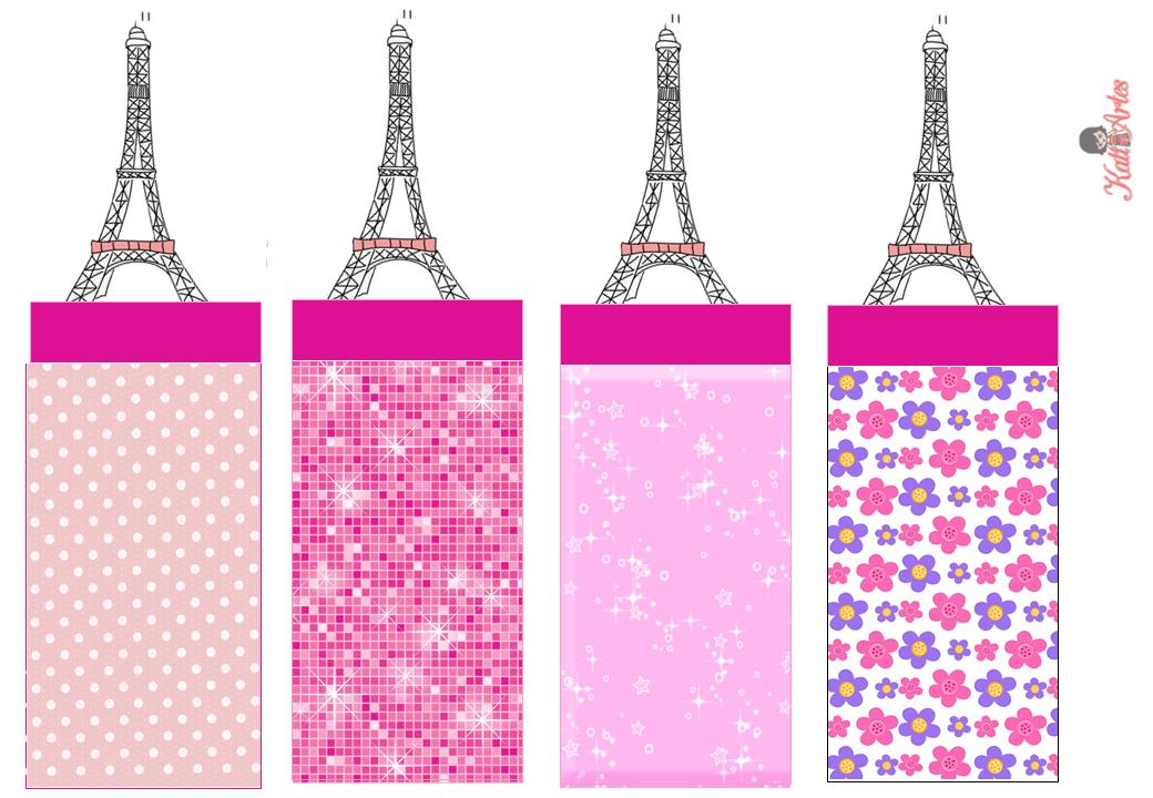Paris: Free Printable Original Nuggets Wrappers.