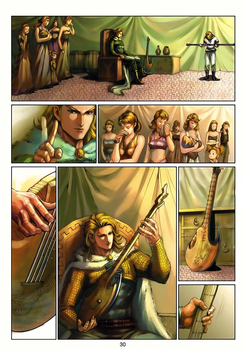Thần Binh Tiền Truyện 4 - Huyền Thiên Tà Đế chap 13 - Trang 30