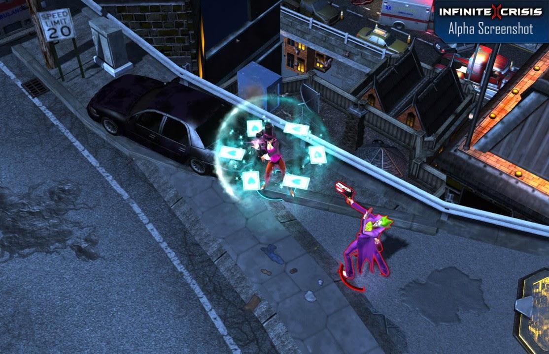 Infinite Crisis MOBA, Comic 2.5D MMO