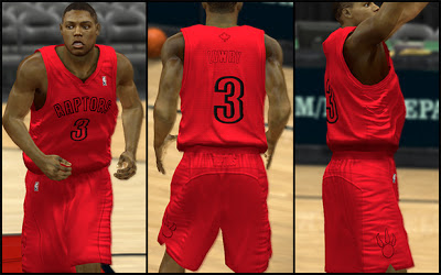 NBA 2K13 Toronto Raptors Christmas Jersey Patch