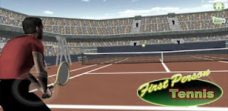 Games Android : Free Download Game First Person Tennis v4.1 Apk